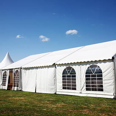 eyelets, rings, grommets and spur tooth washers for marquees